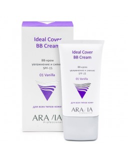 BB-крем увлажняющий SPF-15 Ideal Cover BB-Cream Vanilla 01 туба 50 мл
