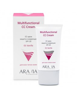 СС-крем защитный SPF-20 Multifunctional CC Cream Vanilla 01 50 мл