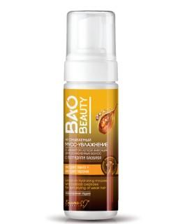 Белита-М Несмываемый мусс-увлажнение с эффектом легкой фиксации для ослабленных волос с пептидами баобаба