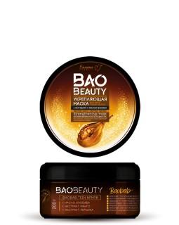Белита-М Укрепляющая маска для всех типов волос с пептидами и маслом баобаба