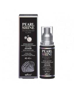 Крем-филлер гиалуронообразующий для лица ночной Жемчужная кожа 40-45+