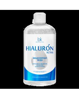 Мицеллярная вода Интенсивное увлажнение Мгновенное удаление макияжа Hialuron Active