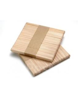 Шпатель деревянный для лица LovEpil 113 мм 100 шт