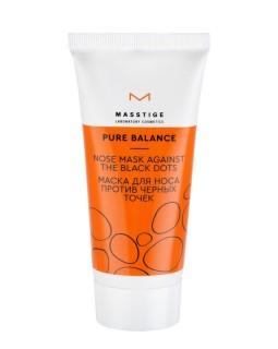 Мастиж Маска для носа против черных точек Pure Balance