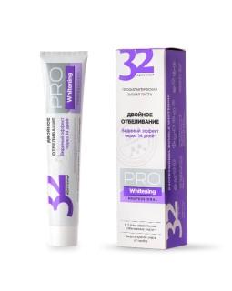 Паста зубная 32 ЖЕМЧУЖИНЫ PRO Whitening Двойное отбеливание