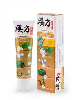 Модум Паста зубная KAMPO ORIENTAL CARE Восточный чай с жасмином и мятой для комплексного ухода за чувствительными зубами и дёснами