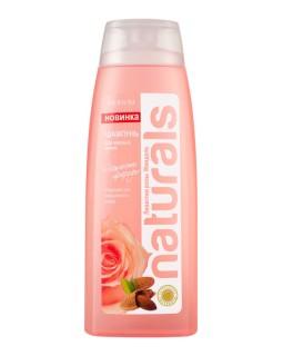 Шампунь для жирных волос Лепестки розы Миндаль