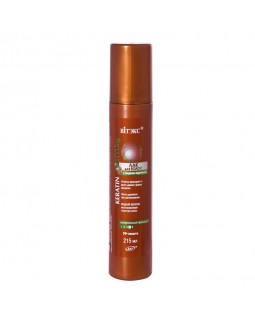 ЛАК для волос с жидким кератином суперсильной фиксации