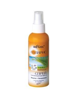 Спрей солнцезащитный SPF 15 с маслом облепихи