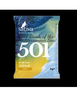 САТИВА Пена для ванны Дикий пляж Средиземного моря № 501